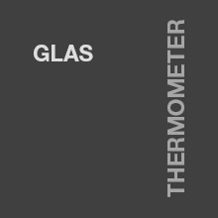 Glas - Thermometer